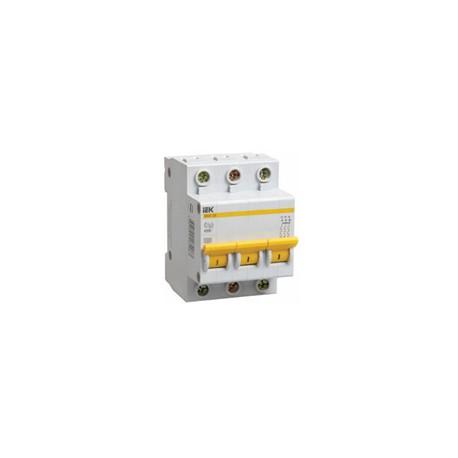 Автоматический выключатель ИЭК 3п 50А