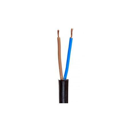 Провод ПВС 2 х 2,5 кв.мм (черный)