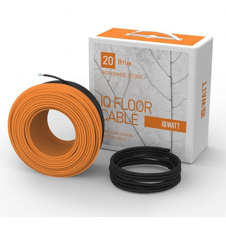 Греющий кабель IQ FLOOR CABLE - 10м 200Вт (1,3 кв.м)